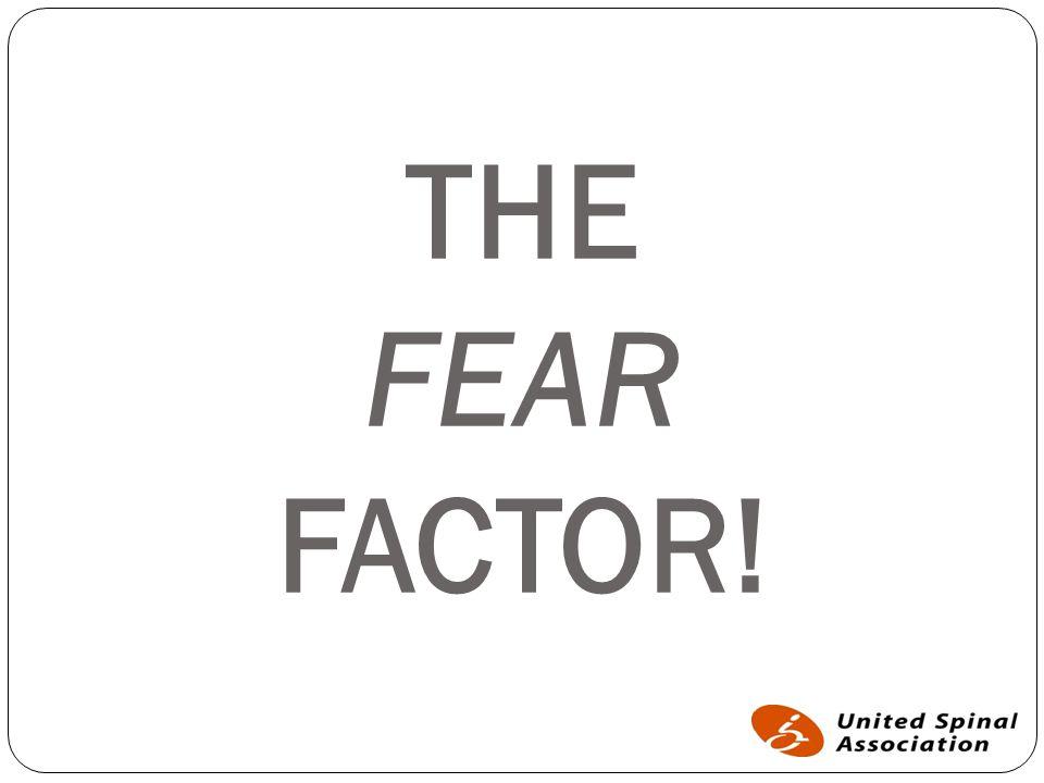 THE FEAR FACTOR!