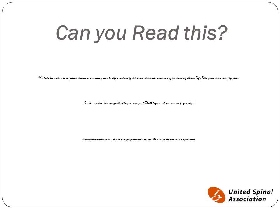 Can you Read this.