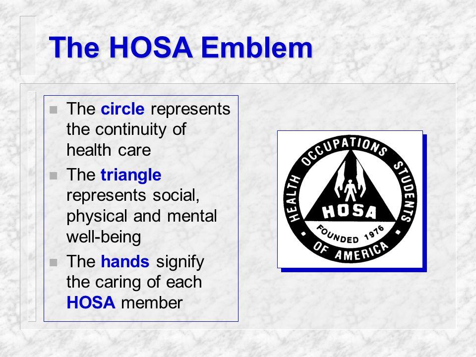 The HOSA Organization