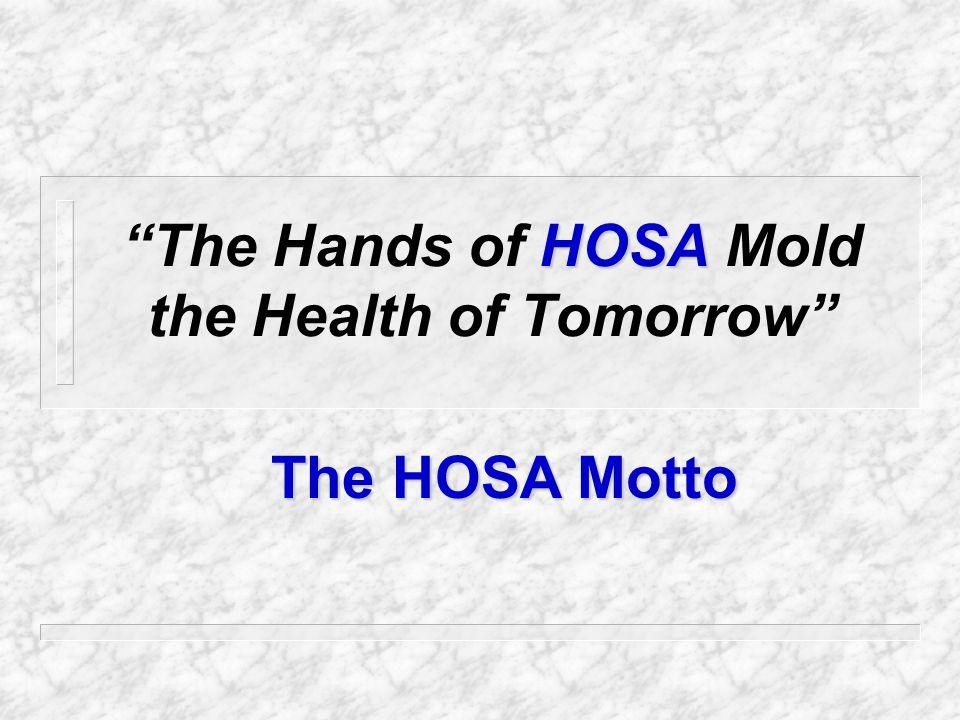 HOSA Provides a...
