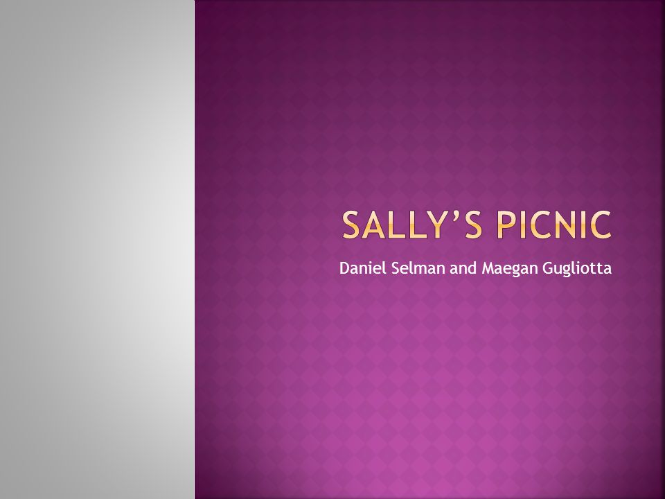 Sally is planning a picnic for her friends and all of their dolls.