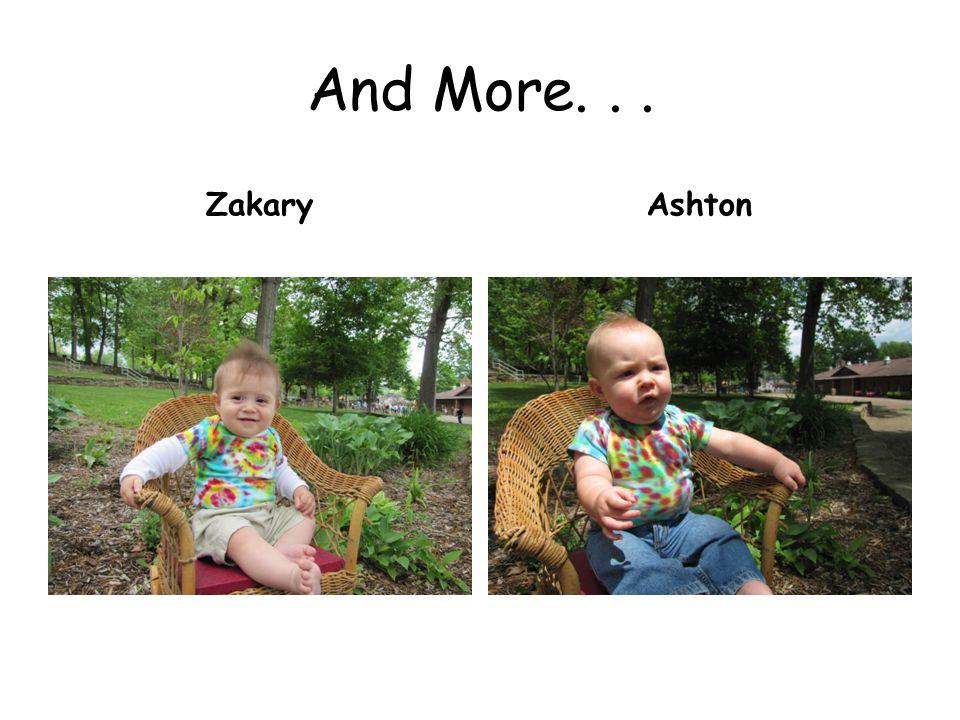 And More... ZakaryAshton
