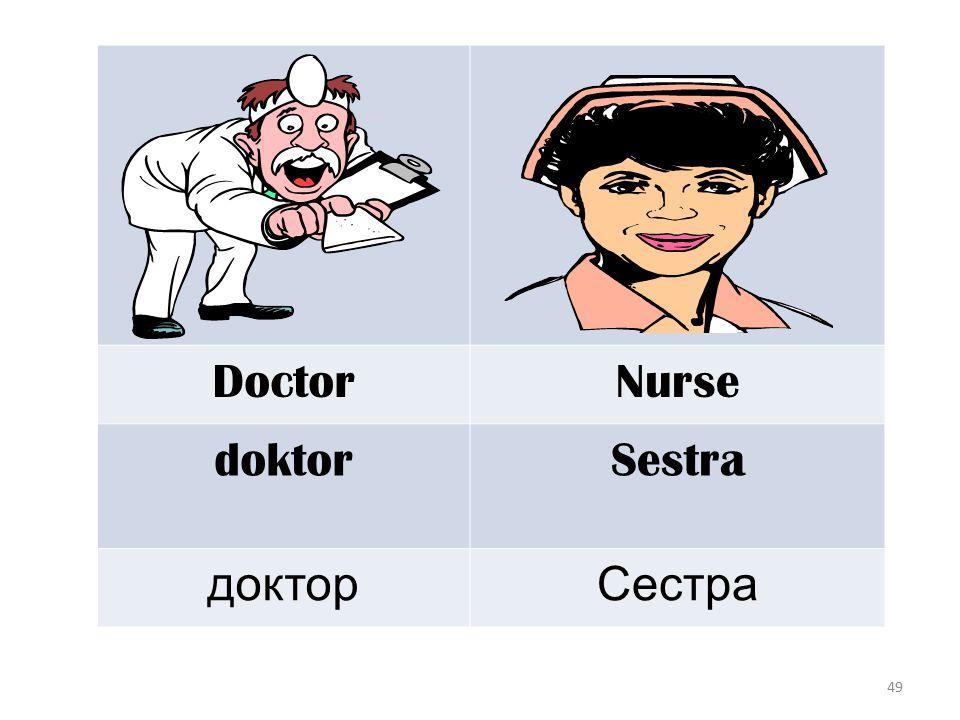 49 DoctorNurse doktorSestra докторСестра