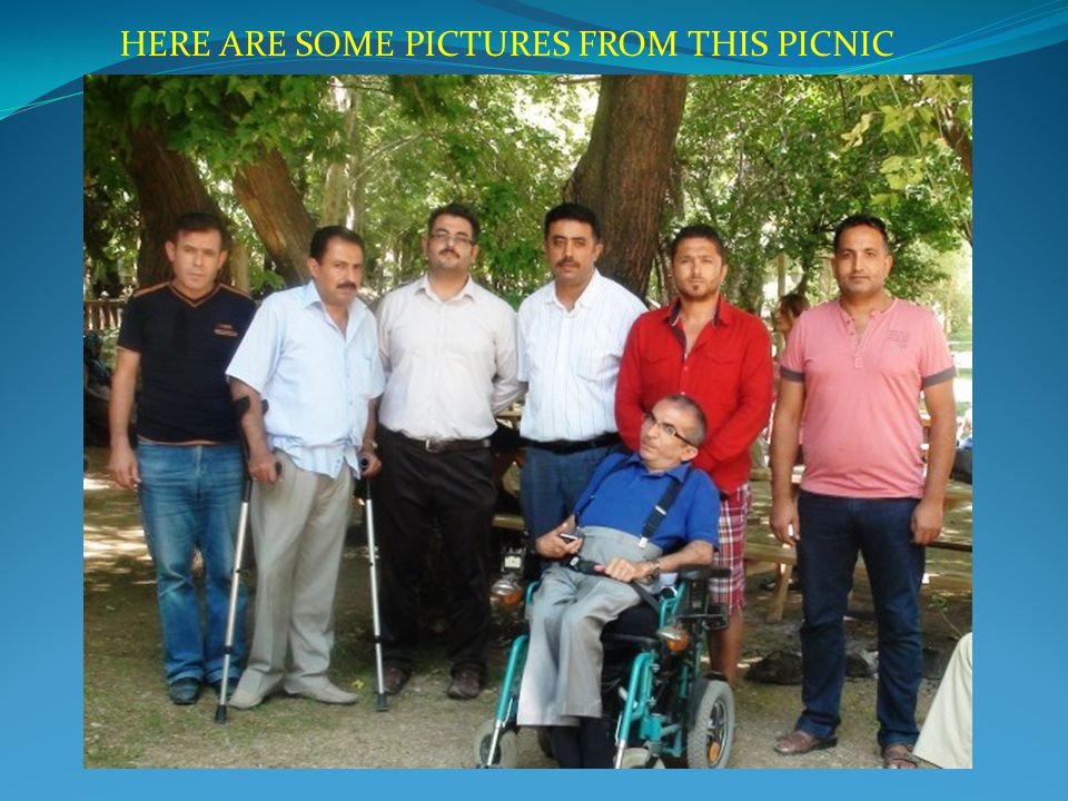 HERE ARE SOME PICTURES FROM THIS PICNIC