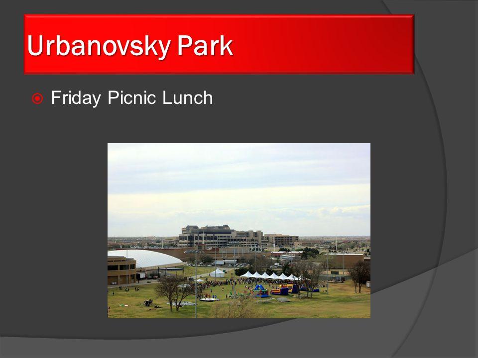  Friday Picnic Lunch Urbanovsky Park