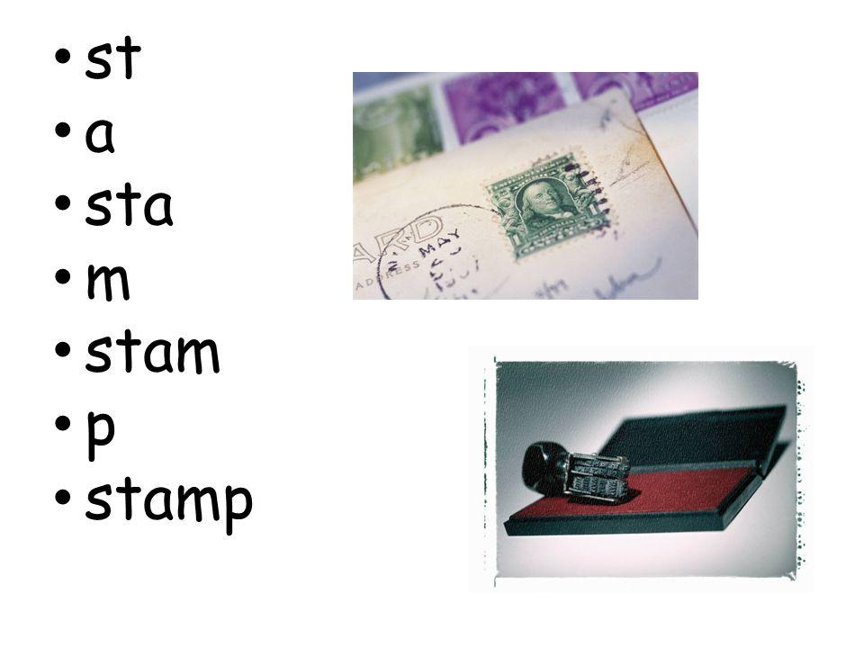 st a sta m stam p stamp