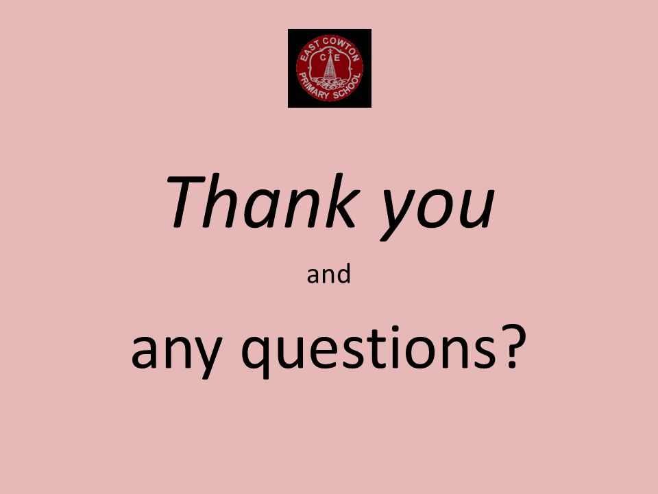 Thank you and any questions