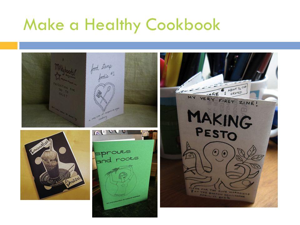 Make a Healthy Cookbook
