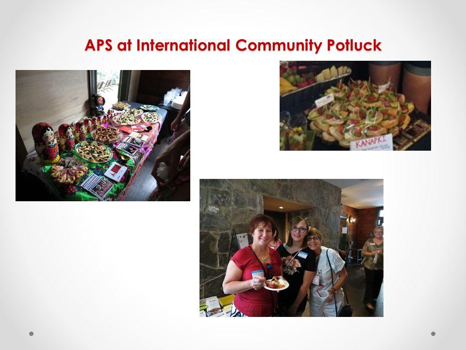 APS at International Community Potluck
