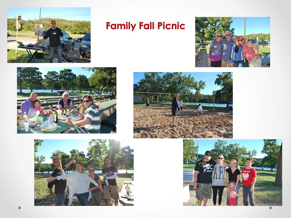 Family Fall Picnic