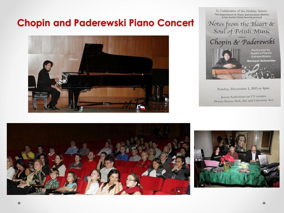 Chopin and Paderewski Piano Concert