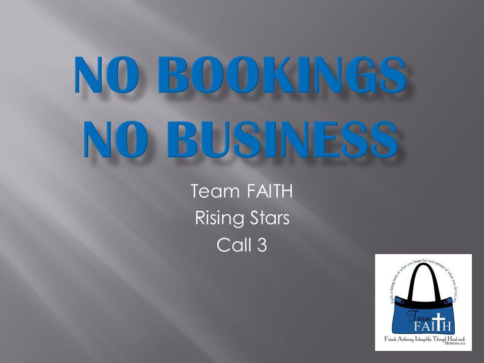 Team FAITH Rising Stars Call 3