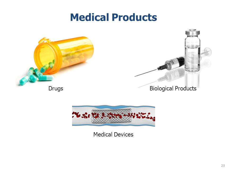 Medical Products Medical Devices DrugsBiological Products 23