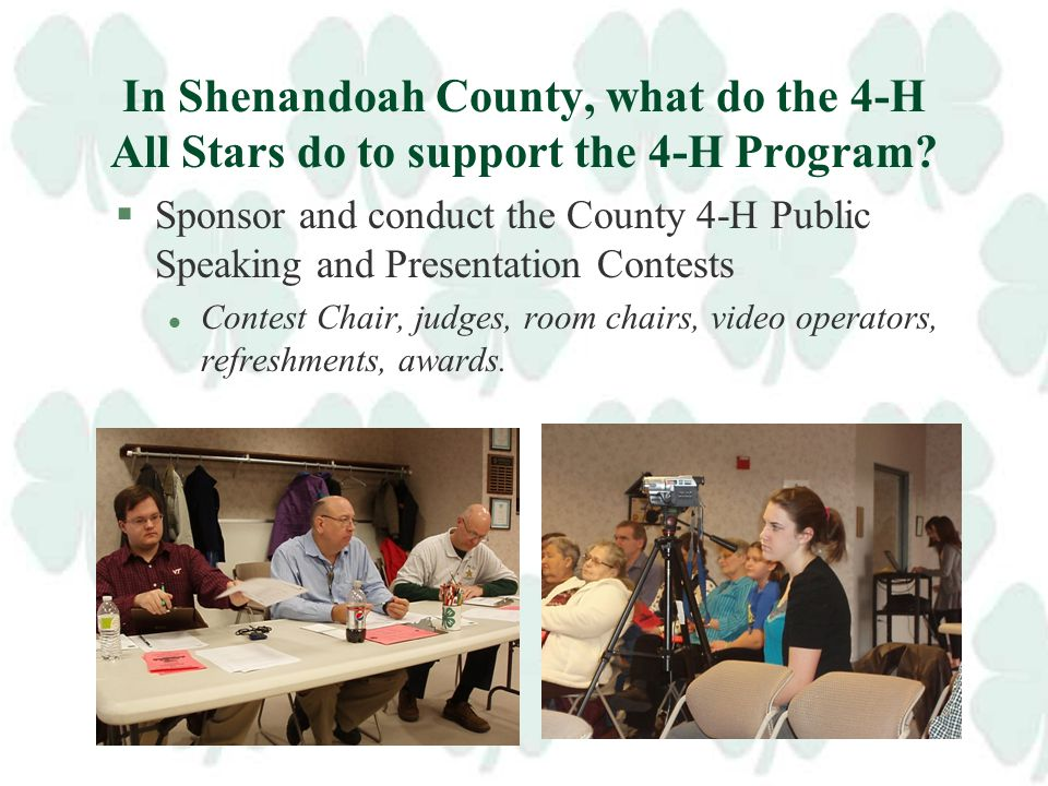 What is an example of local 4-H All Star Service?