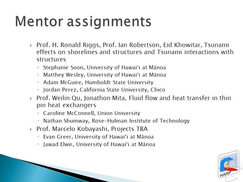  Prof. H. Ronald Riggs, Prof.