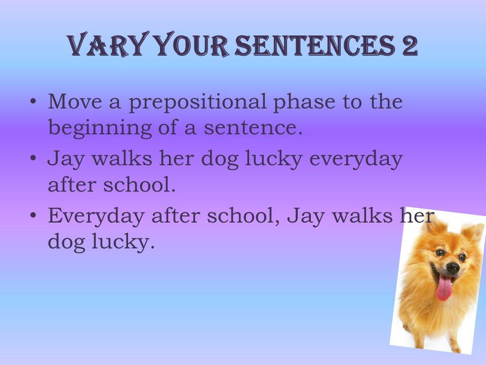  Link two sentences to form a compound sentence.
