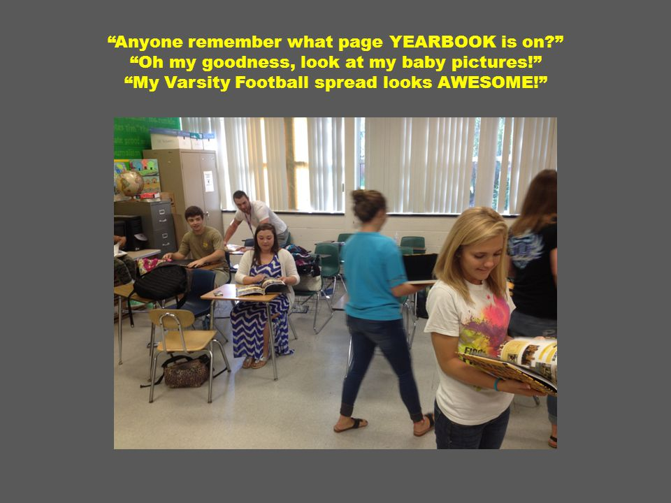 Anyone remember what page YEARBOOK is on Oh my goodness, look at my baby pictures! My Varsity Football spread looks AWESOME!