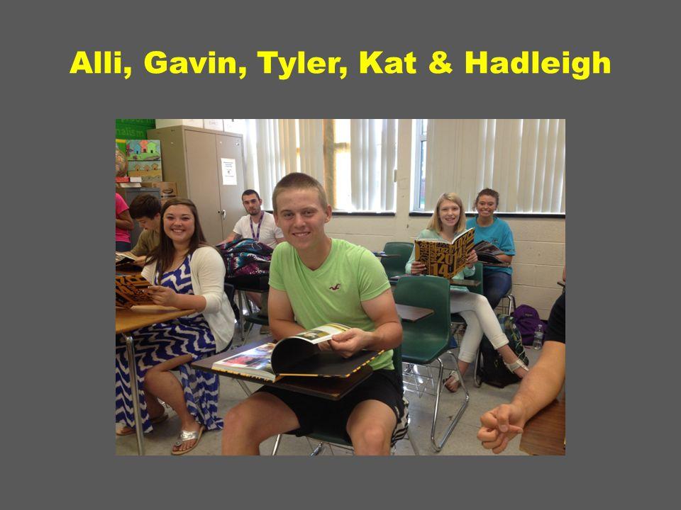 Alli, Gavin, Tyler, Kat & Hadleigh