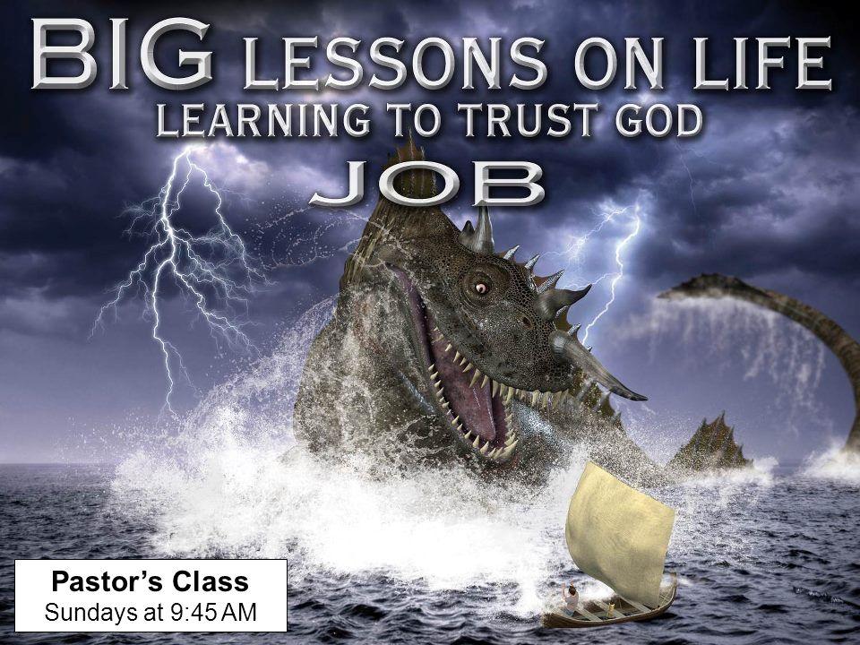 Pastor's Class Sundays at 9:45 AM