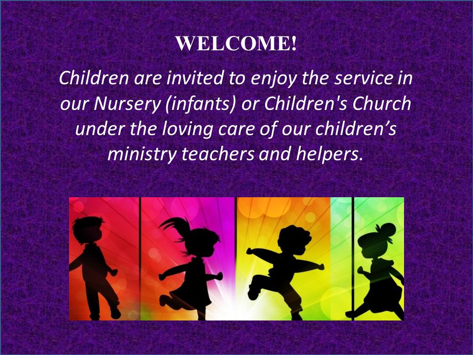 Lesson 1 Broken Leader Nehemiah 1:1–3 WELCOME! Children are invited to enjoy the service in our Nursery (infants) or Children's Church under the lovin