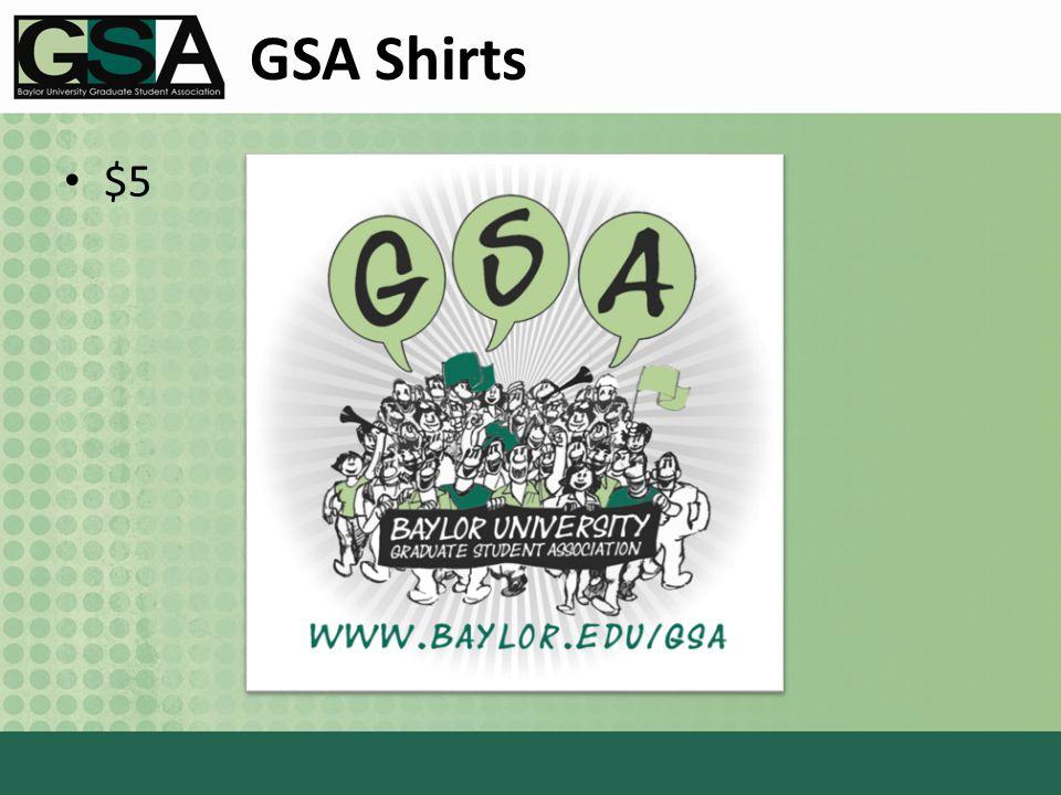GSA Shirts $5