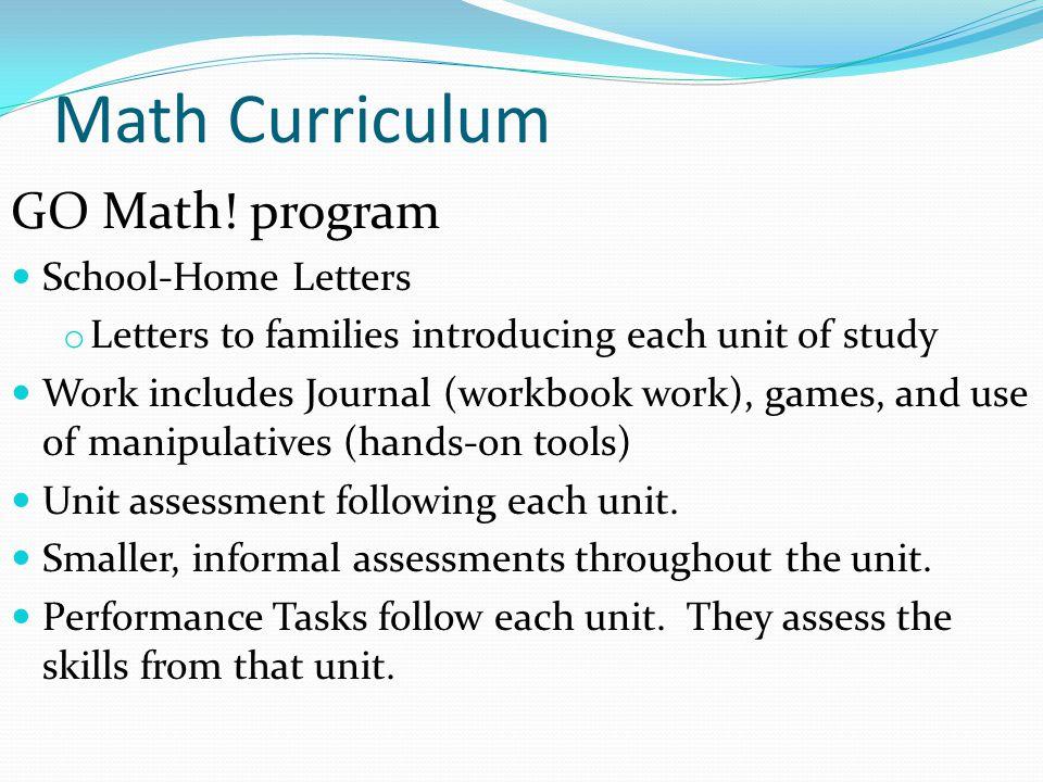 Math Curriculum GO Math.