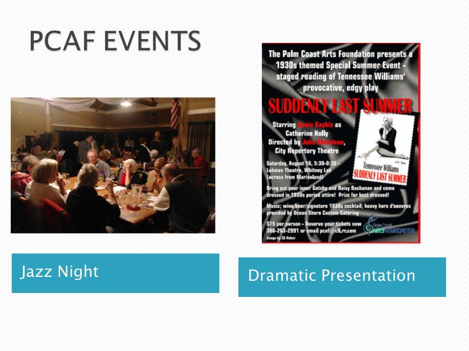 Jazz Night Dramatic Presentation