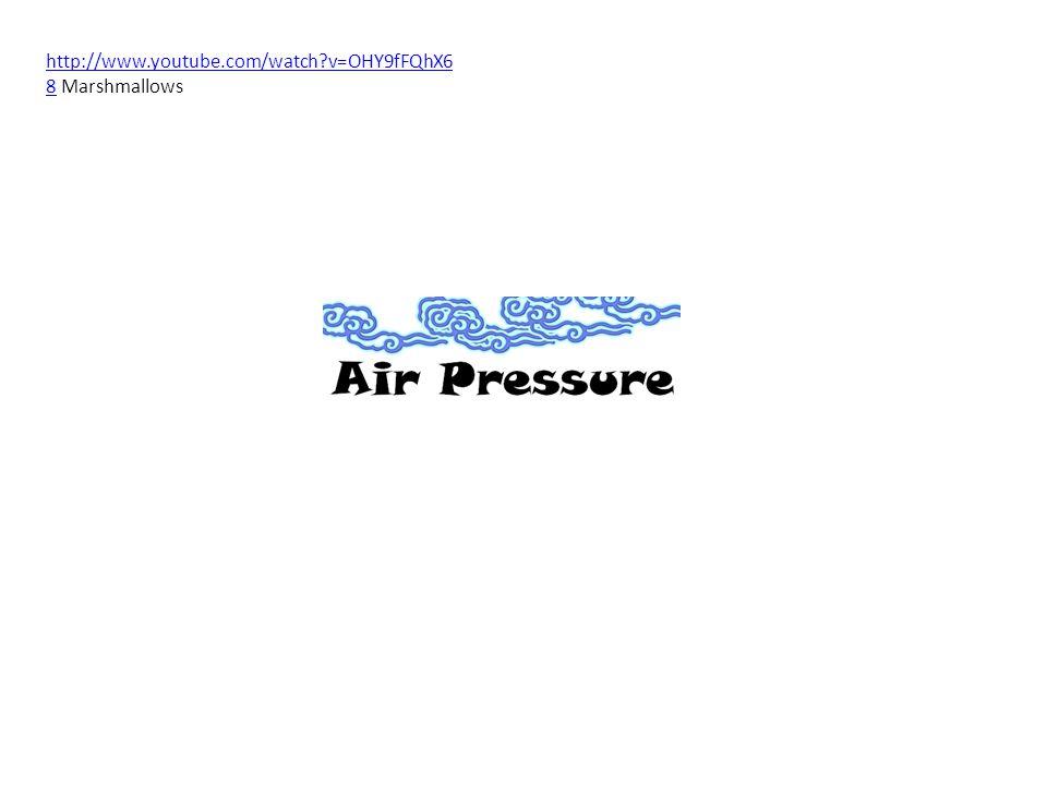 More water vapor means less air molecules (more water molecules) LOW AIR PRESSURE DRY AIR = HIGH AIR PRESSURE