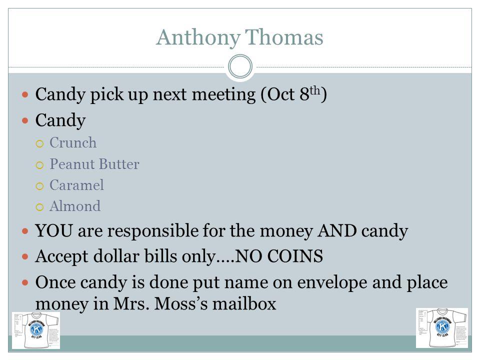 Kiwanis Meetings Volunteer Leader Grab some friends Next Meeting: Oct.