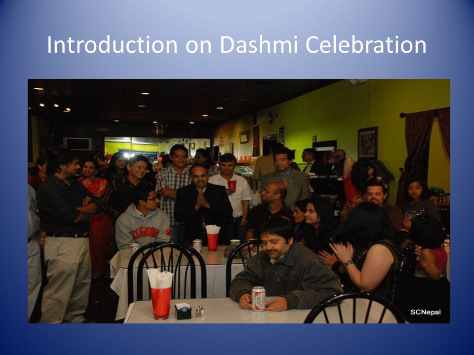 Introduction on Dashmi Celebration