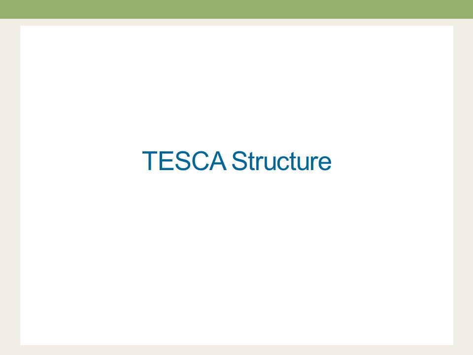 TESCA Structure