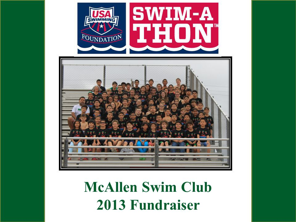 McAllen Swim Club 2013 Fundraiser
