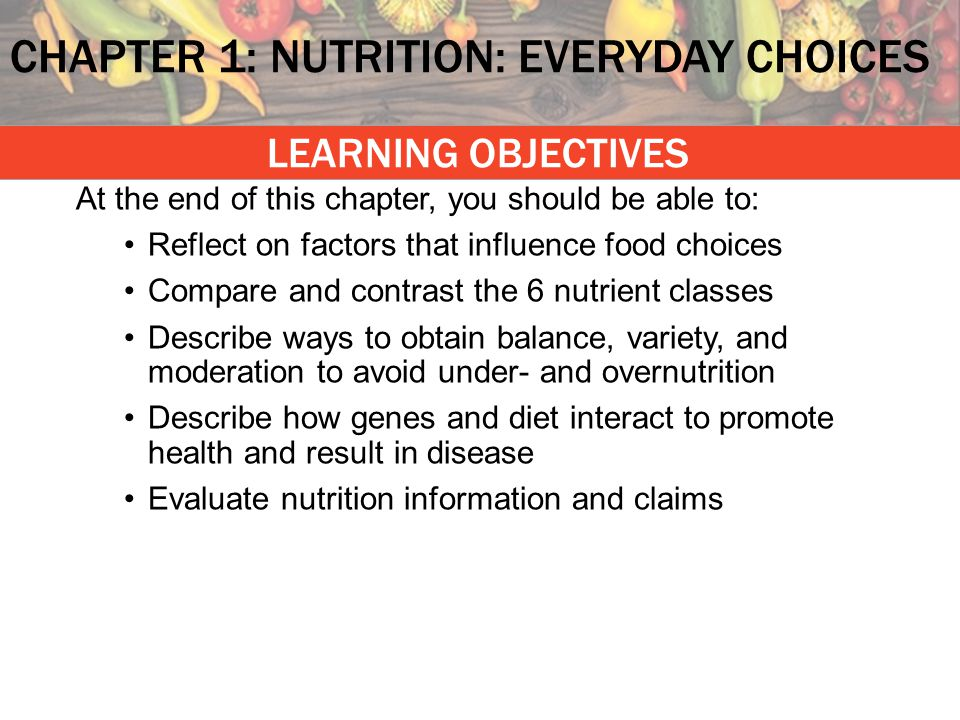 THINK about this – then share within a PAIR – then SHARE with the class What are examples of nutrients?