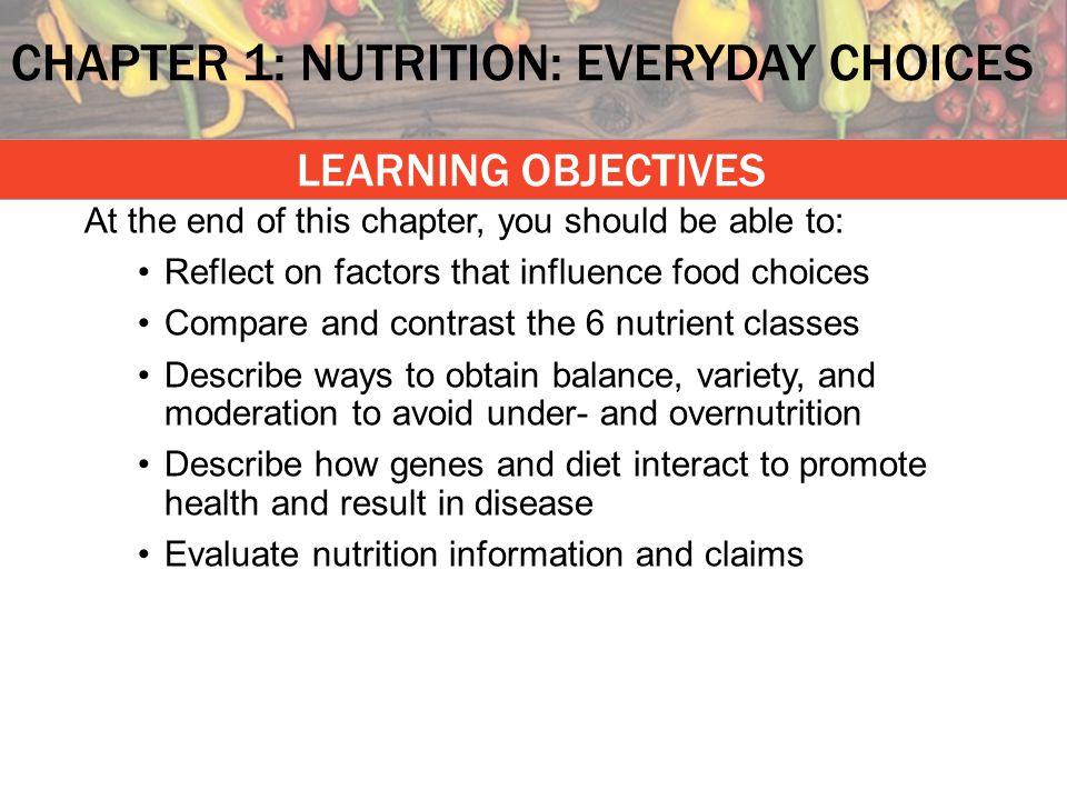 Science of nutrition–scientific method