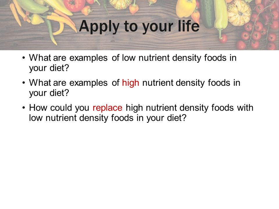 Examples of nutrients a.