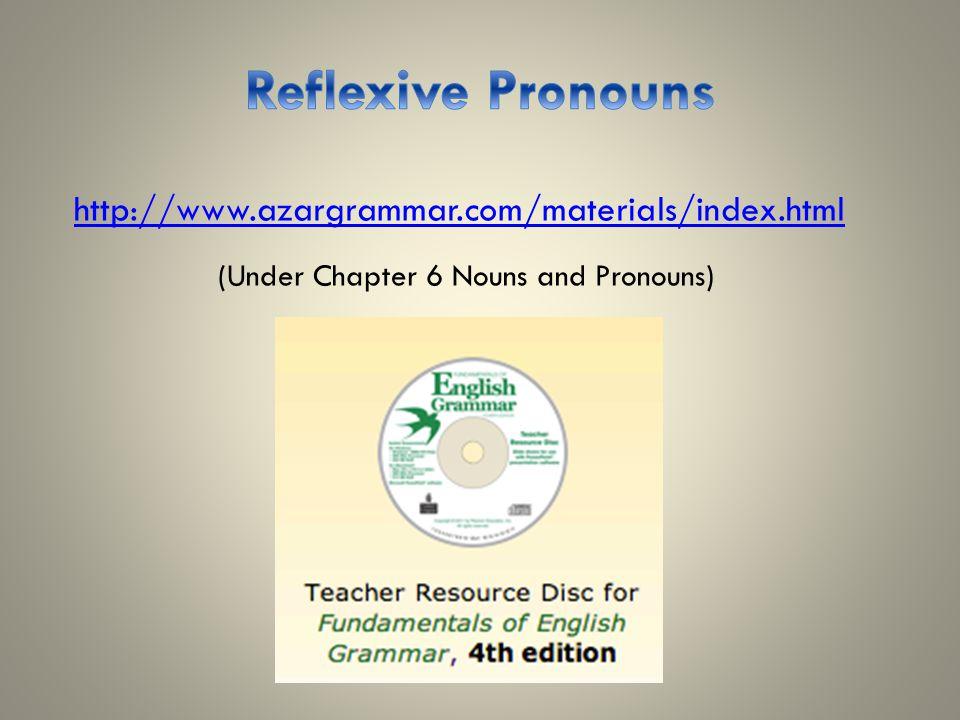 http://www.azargrammar.com/materials/index.html (Under Chapter 6 Nouns and Pronouns)