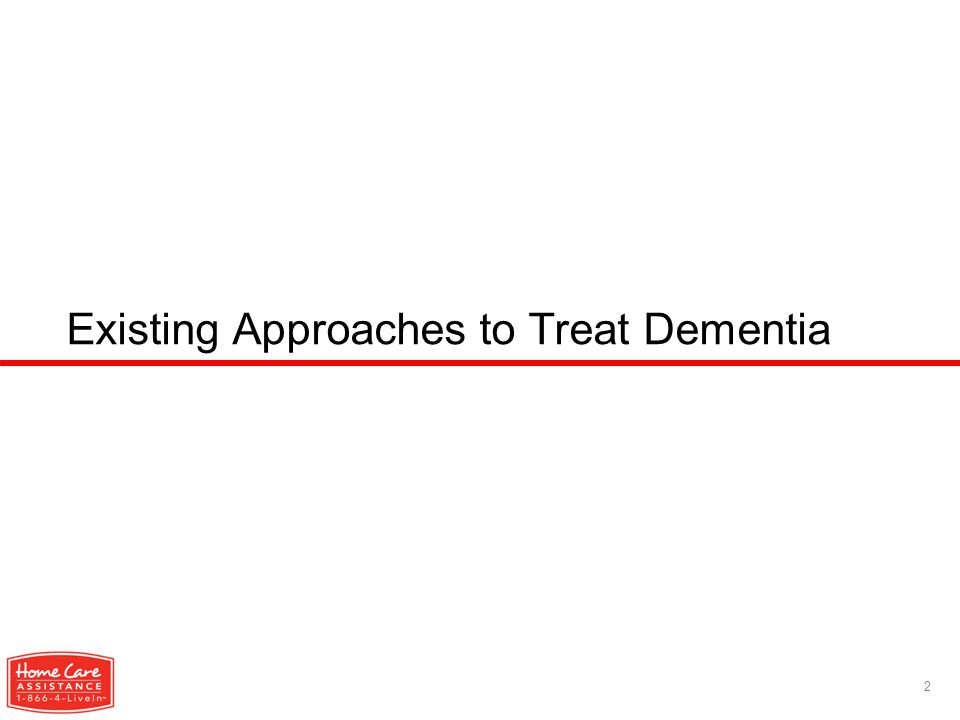 Existing Approaches to Treat Dementia 2