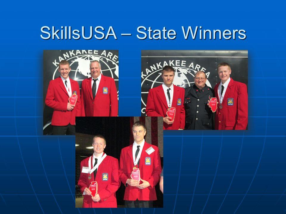 SkillsUSA – State Winners