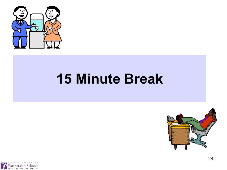 24 15 Minute Break