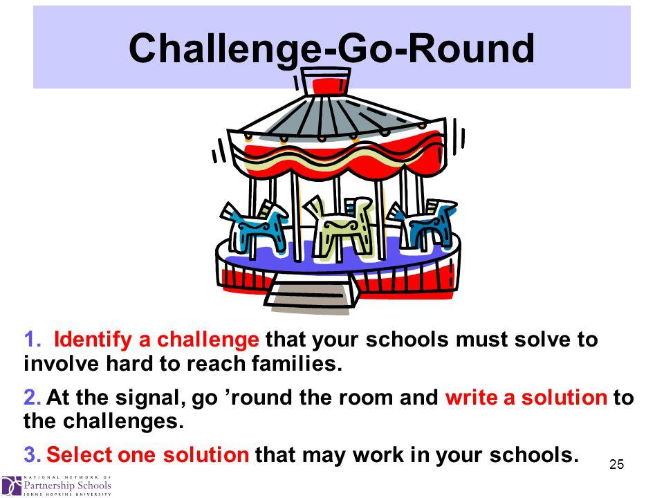 25 Challenge-Go-Round 1.