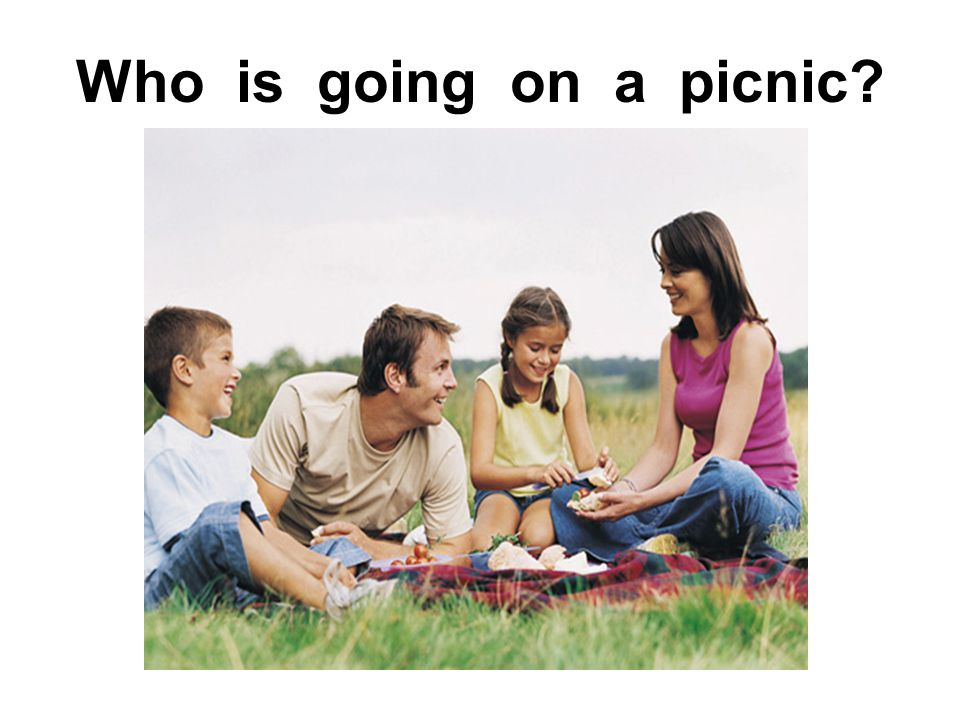 Who is going on a picnic?