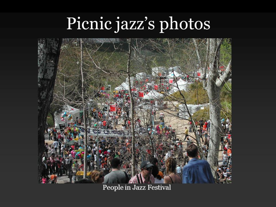 Picnic jazz's photos People in Jazz Festival