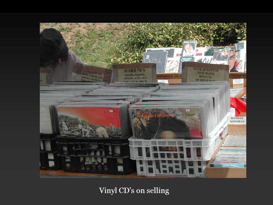 Vinyl CD's on selling