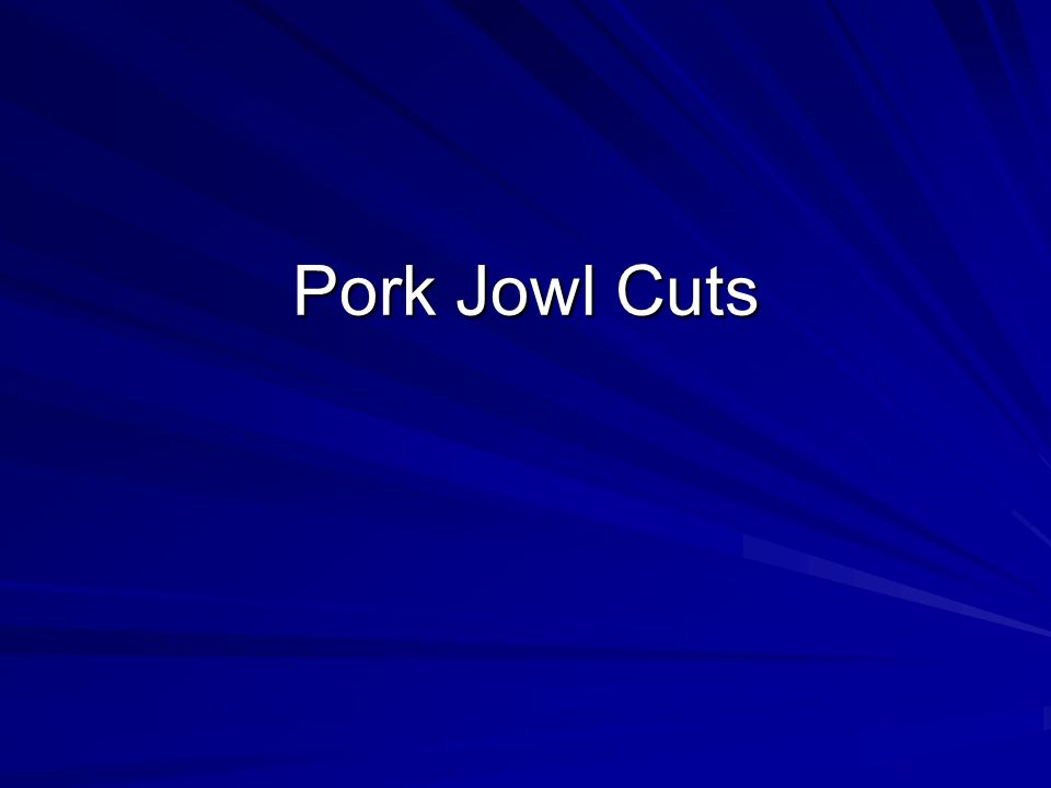 Pork : Loin : Top Loin Chops Cookery Method –Dry Similar to Loin Chops, but tenderloin muscle and part of chine bone removed.