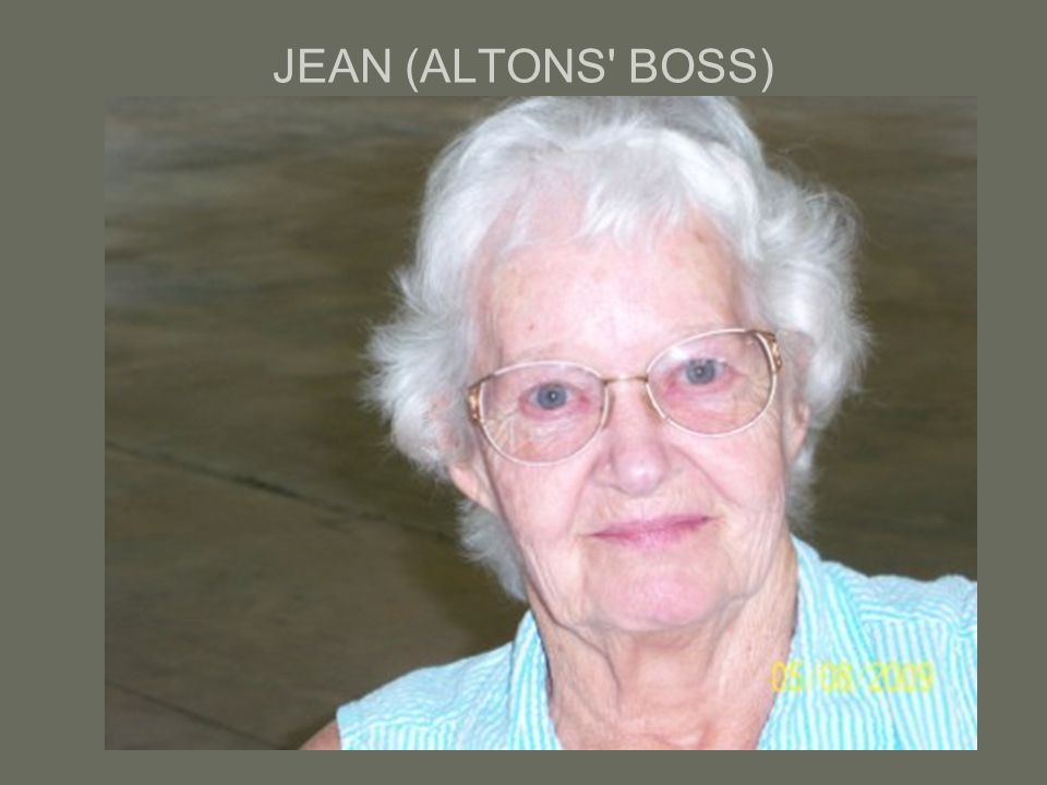 JEAN (ALTONS BOSS)