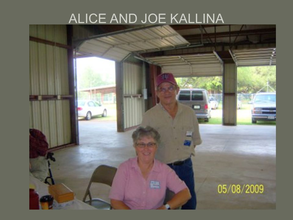 ALICE AND JOE KALLINA