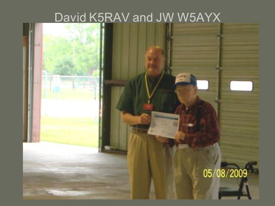 David K5RAV and JW W5AYX
