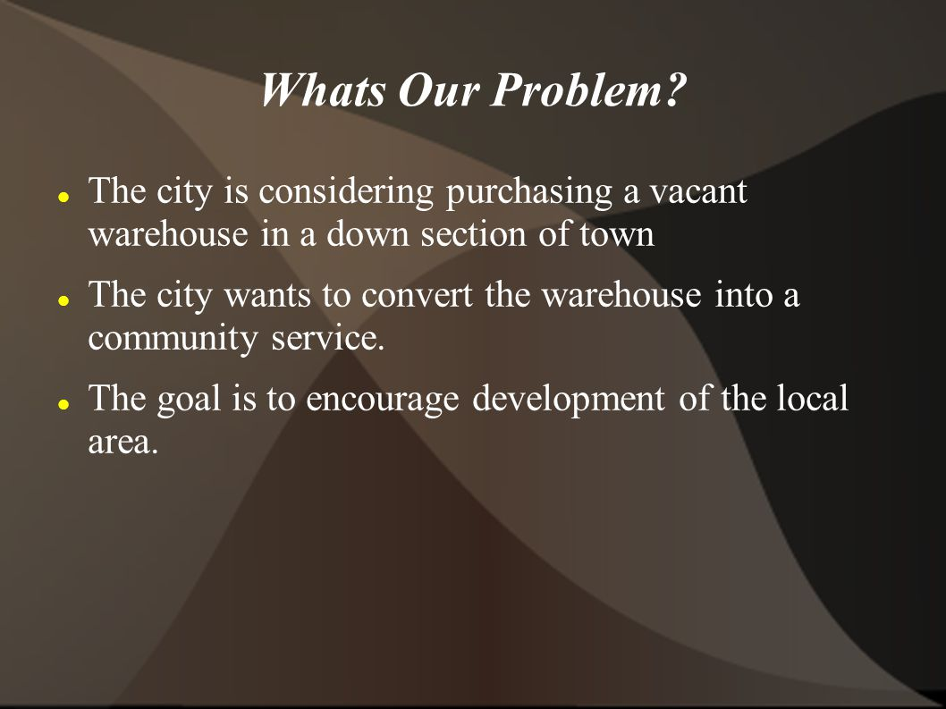 Whats Our Problem.