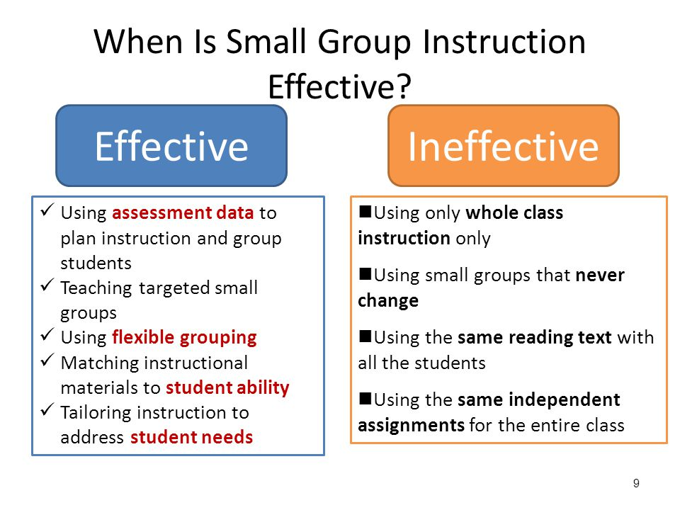 10 Flexible Grouping  Whole Group  Small Group (Same Ability)  Small Group (Mixed Ability)  Pairs/Partners  One-on-One  Engages teachers and students in shared learning experiences  Allows inclusion of every student  Adjusts pacing and instruction to meet specific needs  Maximizes opportunities for students to express what they know and to receive feedback  Adjusts pacing and instruction to meet specific needs  Maximizes opportunities for students to express what they know and to receive feedback  Allows students to share ideas with group members  Encourages peer learning  Allows students to practise in pairs  Encourages peer tutoring  Allows students to practise in pairs  Encourages peer tutoring  Meets individual needs  Allows for more intensive instruction