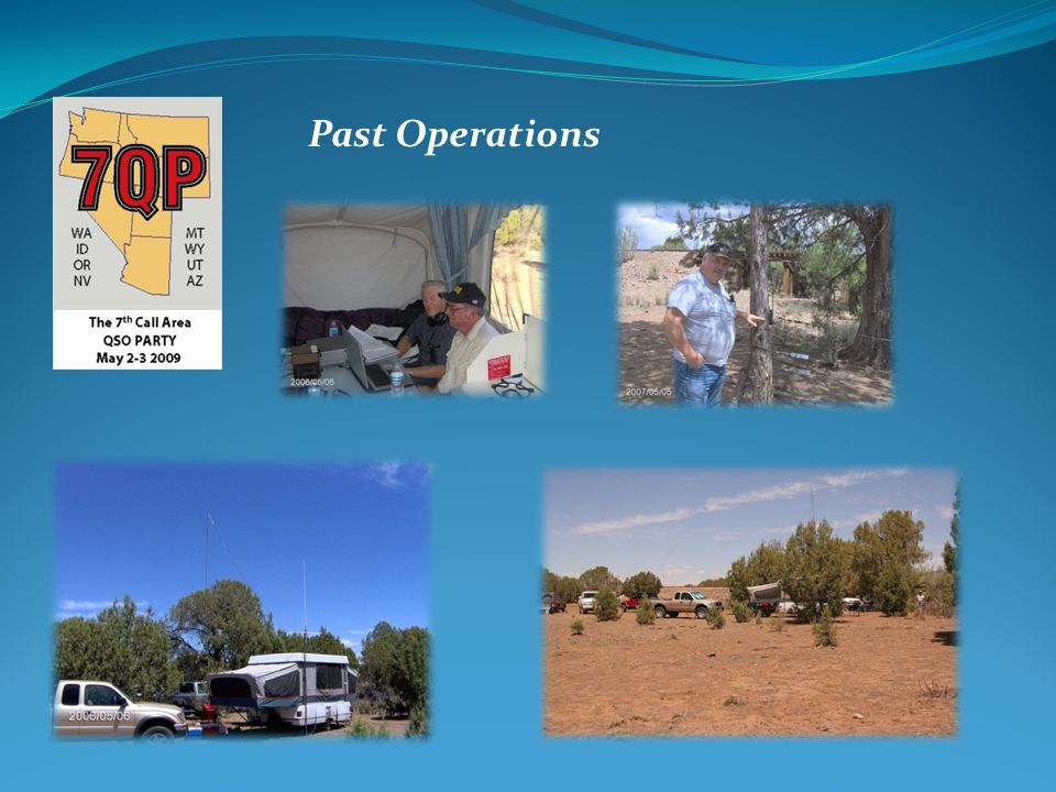Past Operations